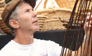 Adrian Charlton - willow basket maker