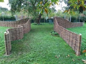 2 willow fences