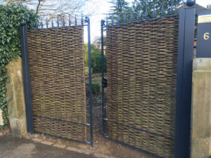 willow fence gates